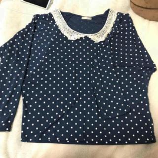ジーユー(GU)のトップス (Tシャツ(長袖/七分))