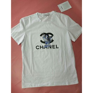 シャネル(CHANEL)のCHANEL シャネル Tシャツ シャツ 半袖 メンズ M (Tシャツ/カットソー(半袖/袖なし))