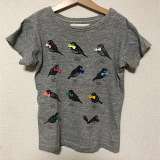 ゴートゥーハリウッド(GO TO HOLLYWOOD)のGO TO HOLLYWOOD小鳥Tシャツ130 デニム&ダンガリー(Tシャツ/カットソー)