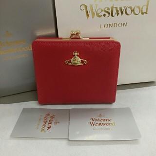 ヴィヴィアンウエストウッド(Vivienne Westwood)のヴィヴィアン ウエストウッド 二つ折り財布 がま口財布(折り財布)