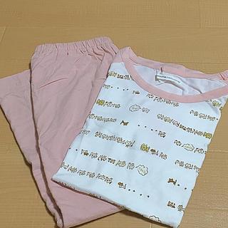 シマムラ(しまむら)の★☆バイカラー パジャマ ルームウェア ねこ Lサイズ しまむら 新品(パジャマ)