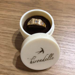 H.P.FRANCE - イロンデール 星留めダイヤモンドリング K18