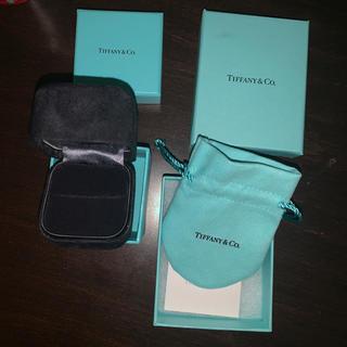 ティファニー(Tiffany & Co.)のティファニー正規リング&ネックレスポーチ箱のみ(その他)