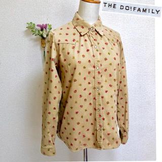 DO!FAMILY - 交渉可‼️Do!Family コーデュロイウェスタンシャツ 花柄 日本製