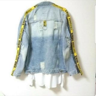 ZARA - 【ハイファッション】 デニムジャケット Gジャン ジーンズ デニム トップス