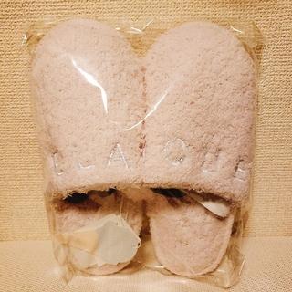 ジェラートピケ(gelato pique)の【最終価格】新品タグ付き!gelatopiqué  ピケ ロゴ入りルームシューズ(スリッパ/ルームシューズ)
