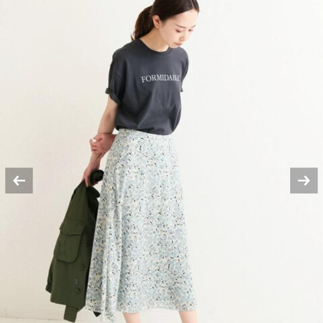 IENA(イエナ)のiena イエナ ロゴプリントTシャツ 新品 レディースのトップス(Tシャツ(半袖/袖なし))の商品写真