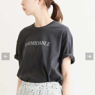 IENA - iena イエナ ロゴプリントTシャツ 新品