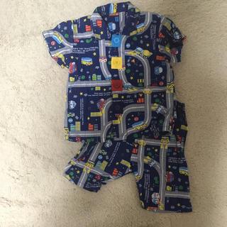 ニシマツヤ(西松屋)の保育園 ボタン付きパジャマ(パジャマ)