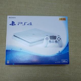 PlayStation4 - PS4 グレイシャー・ホワイト 500GB CUH-2100A