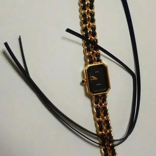 シャネル(CHANEL)のシャネル プルミエール 交換用革紐2本セット 革ベルト 新品(腕時計)