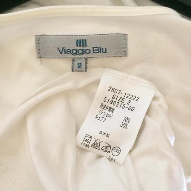 VIAGGIO BLU(ビアッジョブルー)のビアッジョブルー♡カットソー レディースのトップス(カットソー(半袖/袖なし))の商品写真