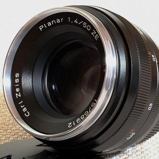 Carl Zeiss Planar T* 1.4/50 ZE 50mm F1.4(レンズ(単焦点))