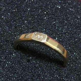 10金イニシャルリング(リング(指輪))