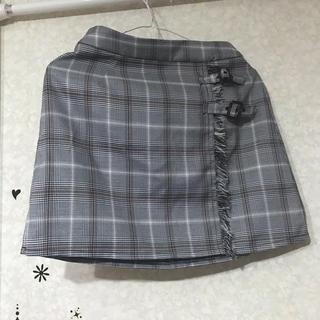 アンクルージュ(Ank Rouge)のAnk Rouge 台形 ミニスカート(ミニスカート)