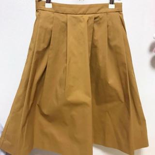 ユニクロ(UNIQLO)のユニクロ ⭐︎ タックフレアスカート(ひざ丈スカート)