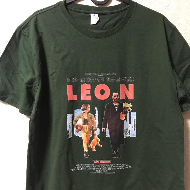 LEON Tシャツ ダークグリーン メンズのトップス(Tシャツ/カットソー(半袖/袖なし))の商品写真