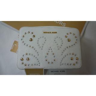 マイケルコース(Michael Kors)の新品 アメリカのマイケルコース店購入 高級 PVCレザー クロスボディショルダー(ショルダーバッグ)