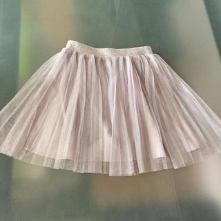 ユニクロ(UNIQLO)のユニクロ チュールスカート 100(スカート)