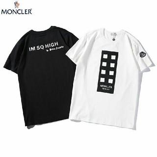 モンクレール(MONCLER)の2枚5000円送料込み 男女兼用 Tシャツ 半袖 美品(Tシャツ/カットソー(半袖/袖なし))