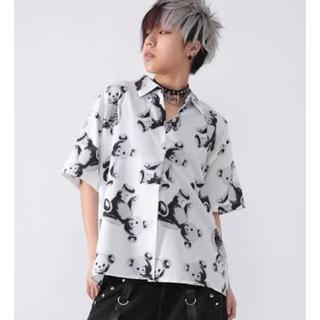 ファンキーフルーツ(FUNKY FRUIT)のFUNKY FRUIT❁スケルトンテディシャツ(Tシャツ(半袖/袖なし))