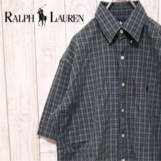 ラルフローレン(Ralph Lauren)のラルフローレン 半袖 コットンシャツ (シャツ)