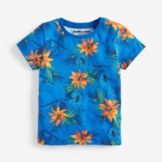 NEXT - 新品!ネクスト ハイビスカス 恐竜Tシャツ