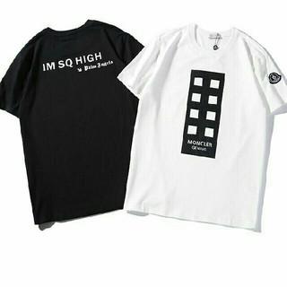 モンクレール(MONCLER)の2枚5000円送料込み 男女兼用 Tシャツ 半袖(Tシャツ/カットソー(半袖/袖なし))