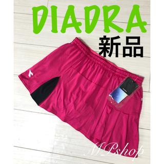 DIADORA - 新品未使用タグ付き♡ ディアドラ テニススコート バドミントンスコート