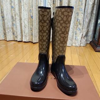 コーチ(COACH)のCOACH レインブーツ(レインブーツ/長靴)