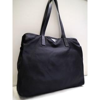 プラダ(PRADA)の美品◆PRADA プラダ A4対応 ビジネス可 ナイロンxレザー トート バッグ(トートバッグ)