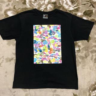 アベイシングエイプ(A BATHING APE)のAPE BAPE マルチ カラー multi 1st camo 迷彩 tシャツ(Tシャツ/カットソー(半袖/袖なし))