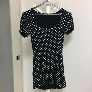 スライ(SLY)のドットトップス(Tシャツ(半袖/袖なし))