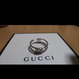 Gucci - GUCCI インター ロッキング リング 17号表記