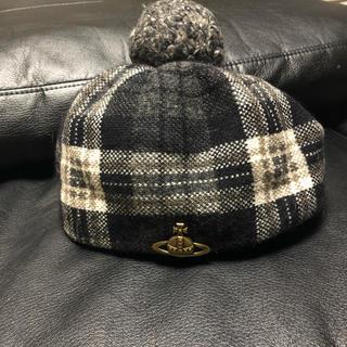ヴィヴィアンウエストウッド(Vivienne Westwood)のヴィヴィアンウエストウッド ベレー帽(ハンチング/ベレー帽)