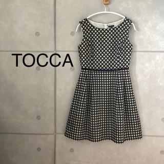 トッカ(TOCCA)のTOCCA ノースリーブ ワンピース(ひざ丈ワンピース)