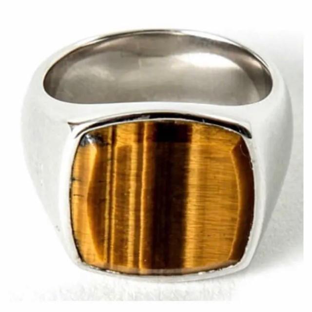 TOM WOOD トムウッド  リング タイガーアイ メンズのアクセサリー(リング(指輪))の商品写真