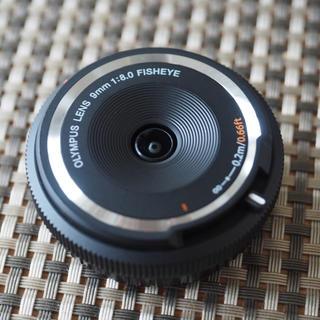 OLYMPUS - 美品 オリンパス BCL-0980 フィッシュアイ ボディーキャップレンズ 黒