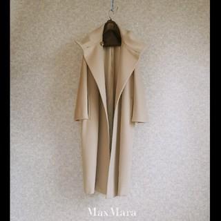 Max Mara - 超高級 美品 マックスマーラ イタリア製  豪華エレガントロングコート 送料無料