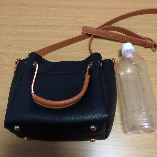 しまむら(シマムラ)の黒 ショルダーバッグ レディースのバッグ(ショルダーバッグ)の商品写真