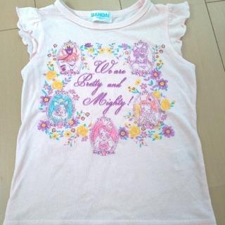 バンダイ(BANDAI)の(ピンク)キラキラ☆プリキュアアラモード Tシャツ(Tシャツ/カットソー)