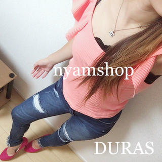 DURAS - DURAS  フレアスリーブトップス