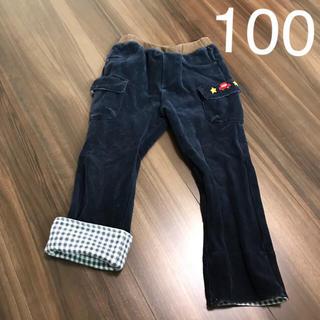 ミキハウス(mikihouse)のused♡ミキハウス パンツ100cm  ベロア素材(パンツ/スパッツ)