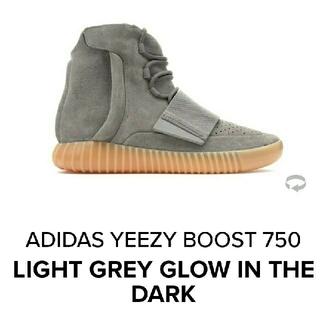 adidas - adidas YEEZY Boost 750 28 グレー