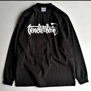 テンダーロイン(TENDERLOIN)のテンダーロイン TEE L/S SP 黒 美品(Tシャツ/カットソー(七分/長袖))