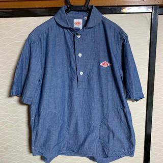 ダントン(DANTON)のダントン 丸襟シャンブレー プルオーバーS/Sシャツ(シャツ)