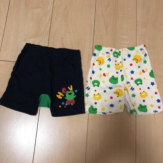 ニシマツヤ(西松屋)の西松屋  男の子  カエルさんパンツ  まとめ売り(パンツ/スパッツ)