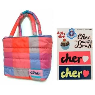 シェル(Cher)のcher ステッカー&ミニトート【雑誌付録】(トートバッグ)