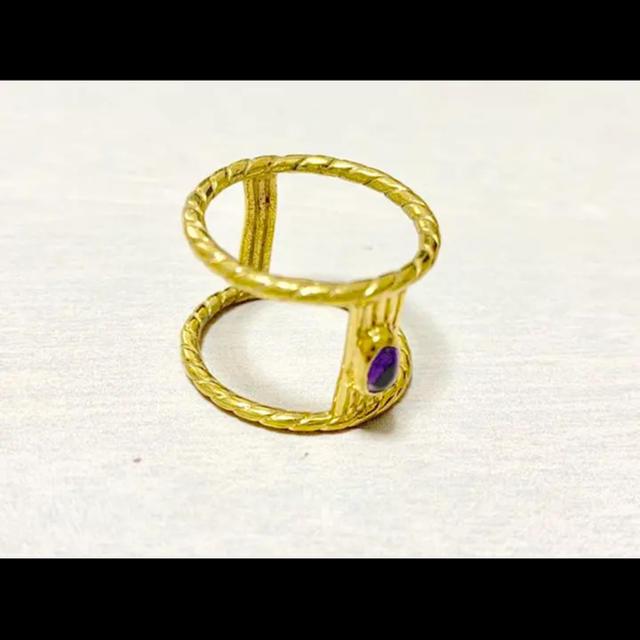 OPENING CEREMONY(オープニングセレモニー)の【最終値下げ】MAIDEN 限定カラーリング メイデン レディースのアクセサリー(リング(指輪))の商品写真