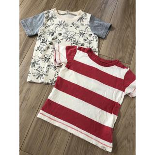 ニシマツヤ(西松屋)の最終値下げ 西松屋 Tシャツ 2枚セット 95(Tシャツ/カットソー)
